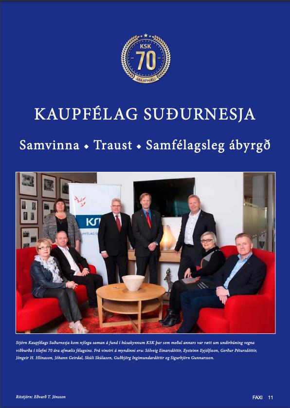 Forsíða KSK 2015
